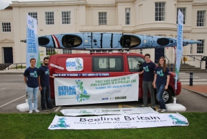 Students from Liverpool John Moores University join Beeline Britain Crew