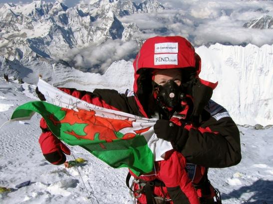 Tori James - Summit Mount Everest