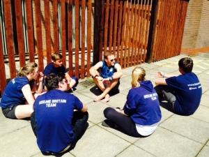Beeline Britain Crew meeting